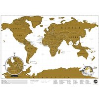 Travel Edition Scratch Map - Travel Gifts
