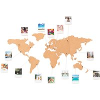Cork Board World Travel Map - Travel Gifts