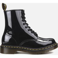 Dr. Martens Women's 1460 Patent Lamper 8-Eye Boots - Black - UK 8
