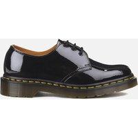 Dr. Martens Womens 1461 Patent Lamper 3-Eye Shoes - Black - UK 8