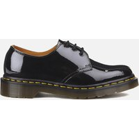 Dr. Martens Women's 1461 Patent Lamper 3-Eye Shoes - Black - UK 6