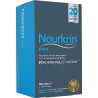 Pack de complementos alimentarios para cabello Nourkrin Man- 3 meses (180 comprimidos)