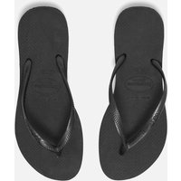 Havaianas Women's Slim Flip Flops - Black - UK 8