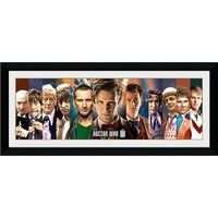 Doctor Who 11 Doctors - 30   x 12   Framed Photographic - Doctor Who Gifts