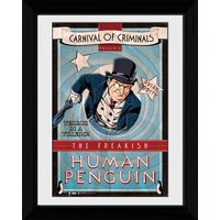 Batman Circus Human Penguin - 30 x 40cm Collector Prints - Batman Gifts