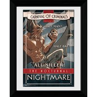 Batman Circus Nocturnal Nightmare - 30 x 40cm Collector Prints - Batman Gifts