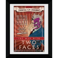 Batman Circus Two Face - 30 x 40cm Collector Prints - Batman Gifts