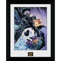 Batman Fist Fight - 30 x 40cm Collector Prints - Batman Gifts