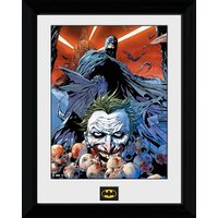 Batman Joker Defeated - 30 x 40cm Collector Prints - Batman Gifts