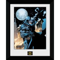 Batman Moonlit Kiss - 30 x 40cm Collector Prints - Batman Gifts