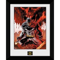 Batman Seeing Red - 30 x 40cm Collector Prints - Batman Gifts