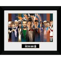 Doctor Who 11 Doctors - 30 x 40cm Collector Prints - Doctor Who Gifts