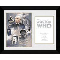 Doctor Who 1st Doctor William Hartnell - 30 x 40cm Collector Prints - Doctor Who Gifts