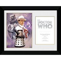 Doctor Who 7th Doctor Sylvester McCoy - 30 x 40cm Collector Prints - Doctor Who Gifts