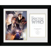 Doctor Who 8th Doctor Paul McGann - 30 x 40cm Collector Prints - Doctor Who Gifts