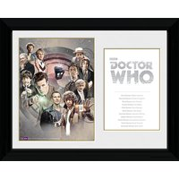Doctor Who Doctors - 30 x 40cm Collector Prints - Doctor Who Gifts