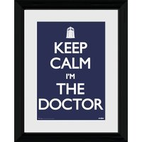 Doctor Who Keep Calm - 30 x 40cm Collector Prints - Doctor Who Gifts