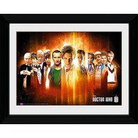 Doctor Who Regenerate - 30 x 40cm Collector Prints - Doctor Who Gifts
