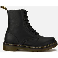 Dr. Martens Women's 1460 Pascal Virginia Leather 8-Eye Boots - Black - UK 3 - Black