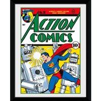 DC Comics Superman Comic - 30x40 Collector Prints - Superman Gifts
