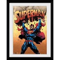 DC Comics Superman Strength - 30x40 Collector Prints - Comics Gifts