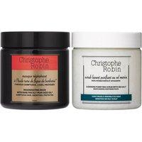 Cleansing purifying scrub + regenerating mask duo (Worth £94.00)