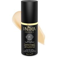 INIKA Certified Organic Liquid Mineral Foundation (Various Colours) - Cream