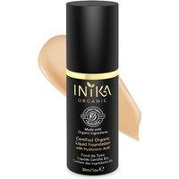 INIKA Certified Organic Liquid Mineral Foundation (Varios colores) - Honey