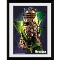 Doctor Who Dalek - 16x12 Framed Photographic - Doctor Who Gifts