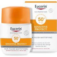 Eucerin(r) Sun Protection Sun Fluid Mattifying Face SPF50+ Very High (50ml)
