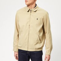 Polo Ralph Lauren Mens Bi-Swing Windbreaker - Khaki Uniform - L