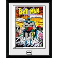 DC Comics Batman Comic Robin Dies at Dawn - 16 x 12 Inches Framed Photographic - Batman Gifts