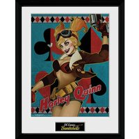 DC Comics Harley Quinn - 16 x 12 Inches Framed Photographic - Comics Gifts