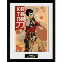 DC Comics Katana - 16 x 12 Inches Framed Photographic - Comics Gifts