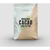 Organic Cacao Liquor Buttons - 300g - Unflavoured