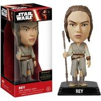 Star Wars The Force Awakens Rey Wacky Wobbler Bobble Head - Star Wars Gifts