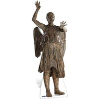 Doctor Who Weeping Angel Attacking Cut Out - Angel Gifts