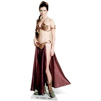 Star Wars Princess Leia Palace Slave Girl Cut Out - Star Wars Gifts