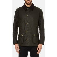 Barbour Heritage Mens Ashby Wax Jacket - Olive - M