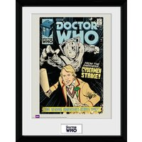 Doctor Who Strike - 16 x 12 Inches Framed Photographic - Doctor Who Gifts