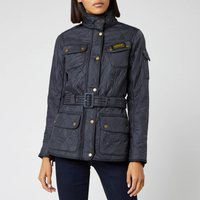 Barbour International Womens Polarquilt Jacket - Navy - UK 12