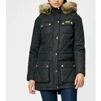 Barbour International Women's Enduro Quilt Jacket - Black - UK 16