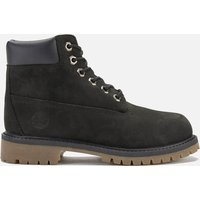Timberland Kids' 6 Inch Premium Waterproof Boots - Black - UK 12 Kids