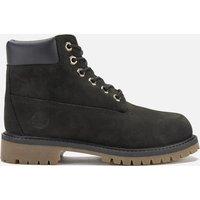 Timberland Kids' 6 Inch Premium Waterproof Boots - Black - UK 2.5 Kids