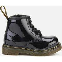 Dr. Martens Toddlers 1460 I Patent Lamper Lace Up Boots - Black - UK 3 Toddler