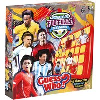 Guess Who? Board Game - World Football Stars Edition - Football Gifts