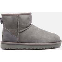 UGG Women's Classic Mini II Sheepskin Boots - Grey - UK 3