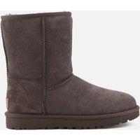 UGG Women's Classic Short II Sheepskin Boots - Chocolate - UK 3