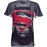 DC Comics Men's Superman Tear T-Shirt - Grey - XXL - Grey - Superman Gifts