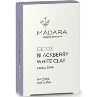 MADARA Blackberry White Clay Clarifying Face Soap 70g